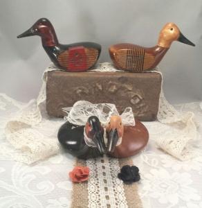 Canvasback Wedding Ducks