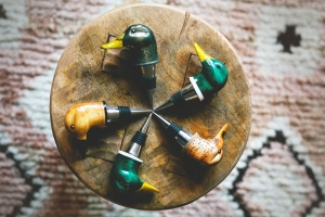 Wood Duck Wine Stoppers
