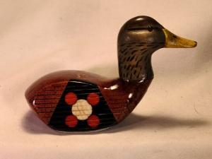 Fancy Face Black Duck